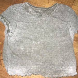 American Eagle Large Olive Green Tee